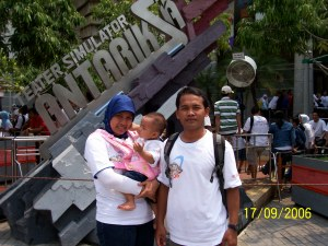 on Ancol Family Day 2007 with TRAC