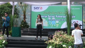 desta & deswita mc in family day SERA 2010