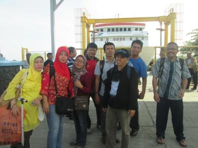 Saat menuju pulau Sabang