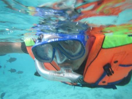 Adaptasi di perairan pulau Rubiah dengan menggunakan snorkling