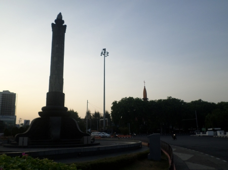 Tugu Pemuda kota Semarang